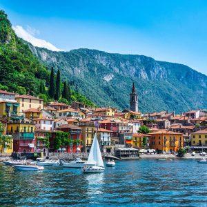 Gita in barca sul Lago di Como